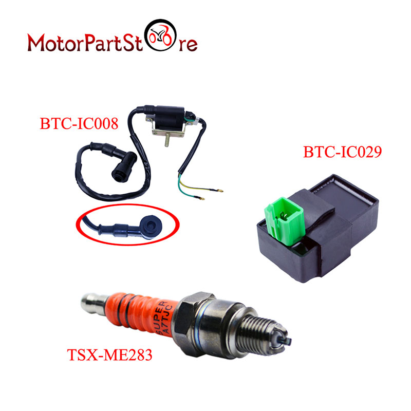 For Honda Ignition Coil CDI Spark Plug XL185 XL XR 70 75 80 100 125 175 185 200 250 @10