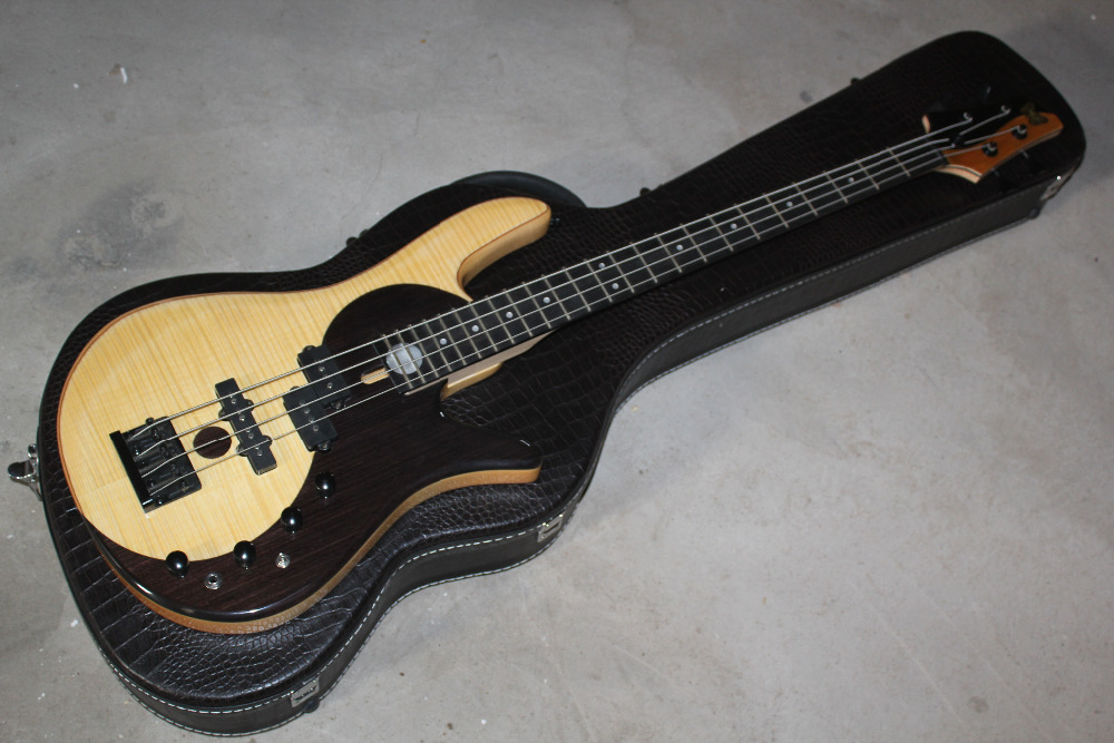 butteryfly deluxe alder body fodera 4 strings bass guitar fodera electric bass guitar with case. Black Bedroom Furniture Sets. Home Design Ideas