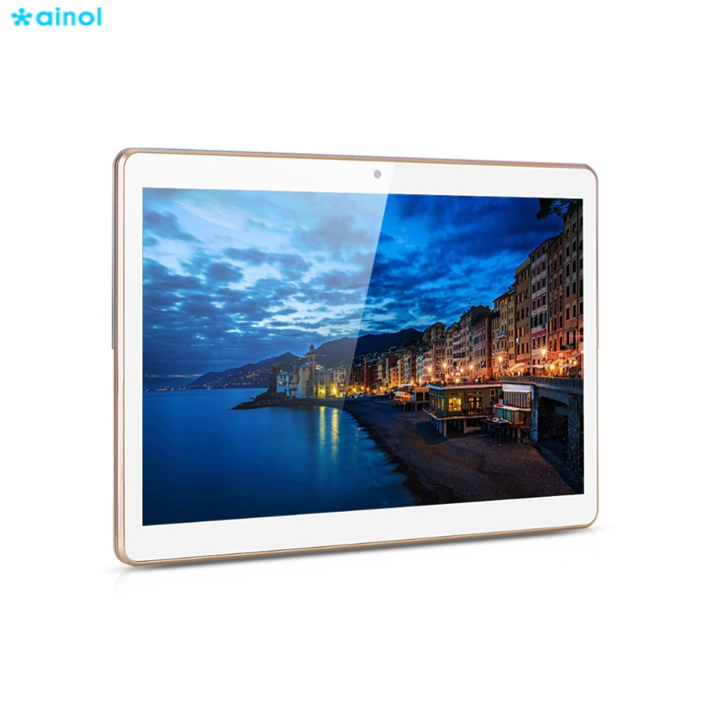 Ainol 10.1 inch Quad Core MTK6852 HD IPS 3G WCDMA Phone Call Tablet Android 4.4 16GB ROM GPS 800*1280 Dual SIM WIFI Tablets PC