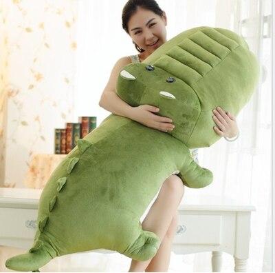 creative toy large 140 cm cartoon crocodile plush toy crocodile doll soft hug pillow, birthday gift x178 cartoon glasses panda in yellow cloth large 70cm plush toy panda doll soft pillow christmas birthday gift x031