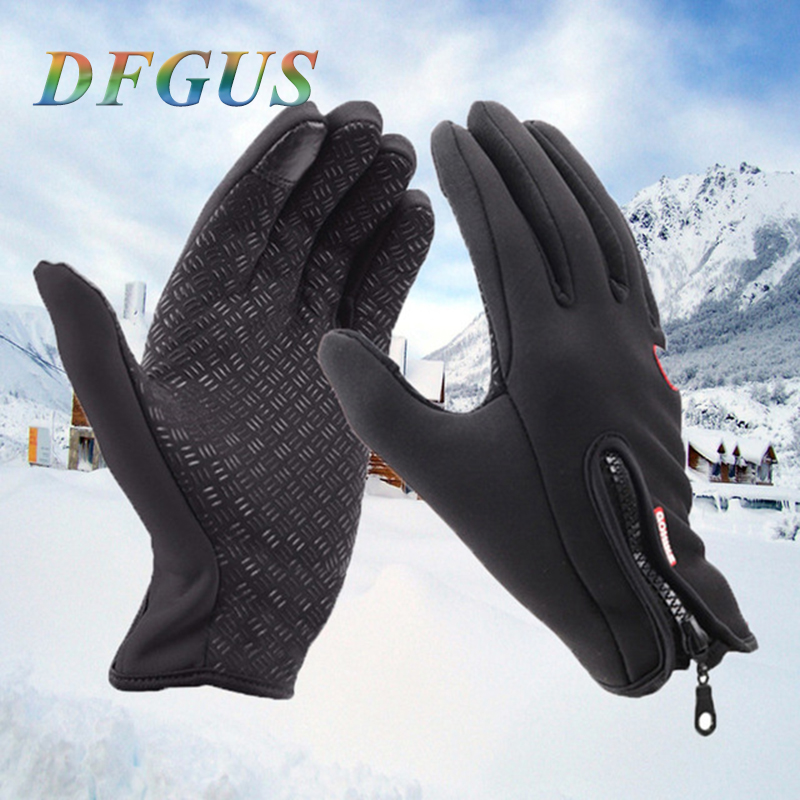 Mens Classic Black Winter Gloves Outdoor Sport Driving Smartphone Touch Screen Gloves Women Male Military Army Tactical Guantes