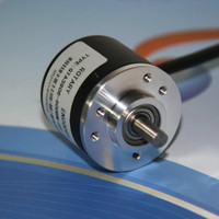 The Incremental Photoelectric Rotary Encoder 400 600 360 Pulses Line AB Two Phase 5 To 24
