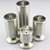 Stainless Steel Cabinet Furniture Legs Sofa Coffee Table Leg 20CM High 4PCS