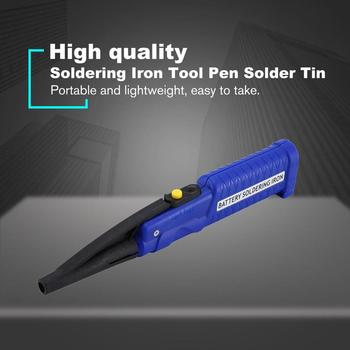 8W 4.5V Portable Electric Iron Battery Powered Soldering Tool Pen Solder Tin Wire Mini Welding Tools Drop Shipping