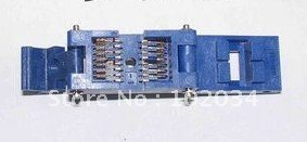 100% NEW IC51-0162 SOP16 IC Test Socket / Programmer Adapter / Burn-in Socket ( IC51-0162-271) mc14049ubdr2g sop16