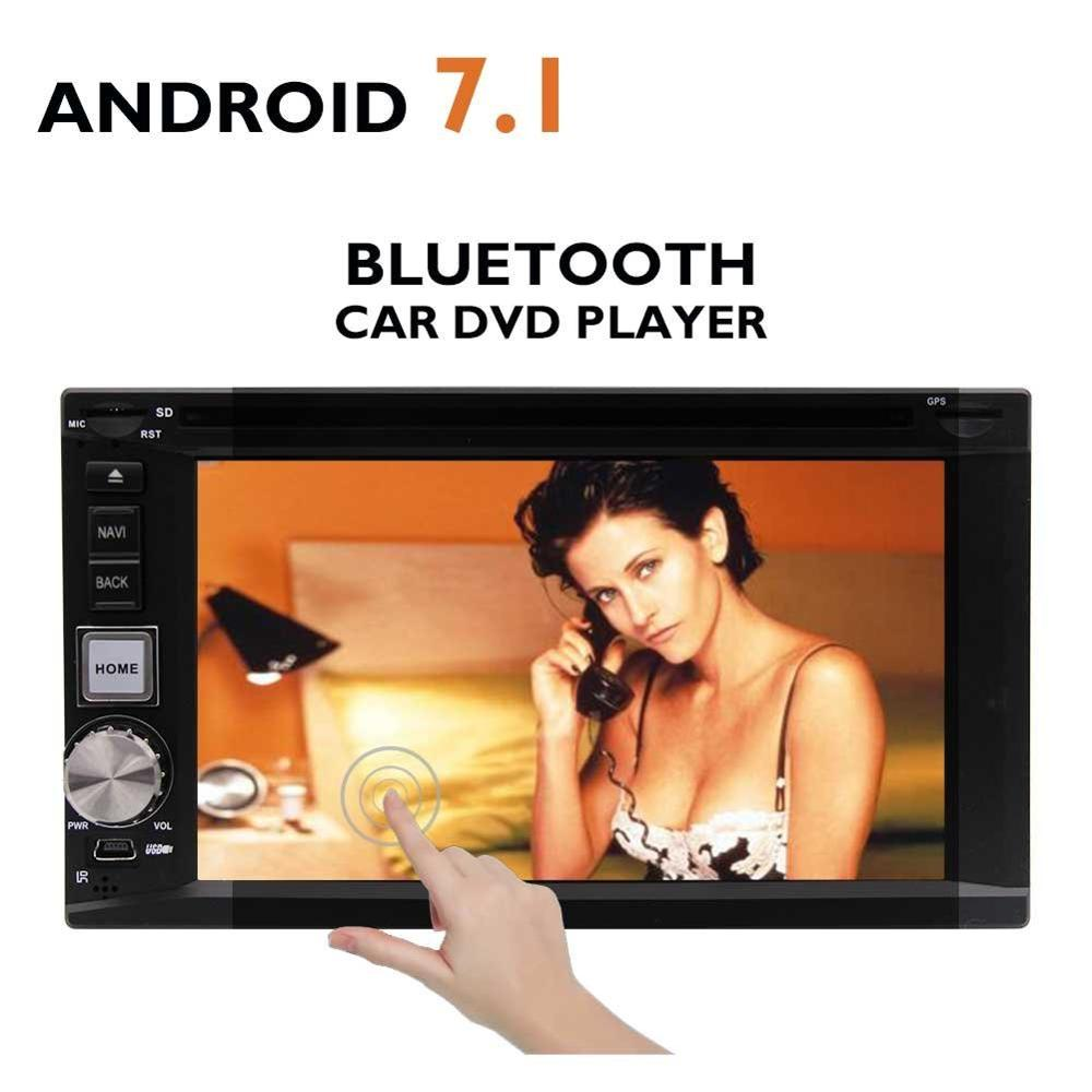 Android 7 1 Double Din Car DVD Player 6 2 Octa Core Car Stereo font b