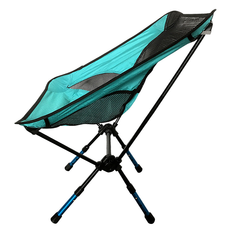 Adjustable Height Moon Chair Fishing Camping BBQ Stool Folding Extended Hiking Seat Garden Ultralight Office Home Furniture
