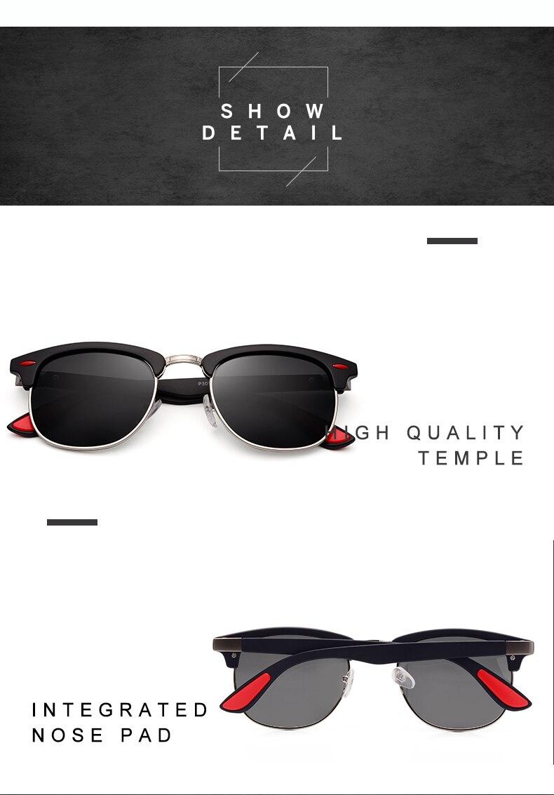 ASUOP 2019 New Polarized Sunglasses for Women UV400 Fashion Round Men's Glasses Classic Retro Brand Design Driving Sunglasses (3)