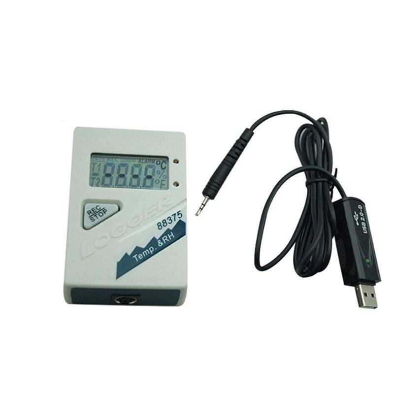 AZ88375 Temperature and Humidity Logger font b Thermometer b font Temperature Detector Temperature Recorder