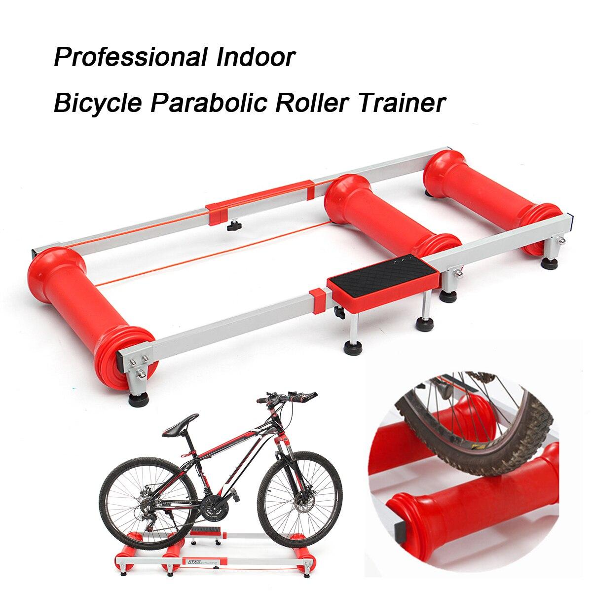 Professional тренер по велоспорту Велосипедный спорт тренер ролики Indoor Training Station складной параболический велосипедные тренажеры красная коробка