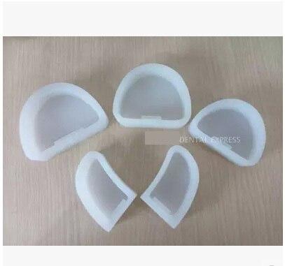5 Stücke Dentallabor Silikon Gips Modell Ehemalige Basis Formen Form