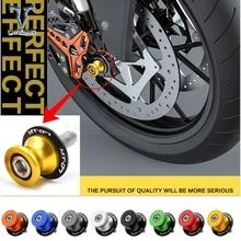купить motorcycle accessories Motorcycle Swingarm Sliders Spools for yamaha R3 R6 MT09 MT-09 MT 09 FZ09 FZ 09 FZ-09 mt07 mt-07 mt 07 fz по цене 491.09 рублей