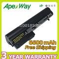 Apexway 6600 мАч 9 Элементная Батарея для HP Business Notebook 2400 2510 p NC2400 412779-001 2530 P 2540 P EH768AA HSTNN-FB21