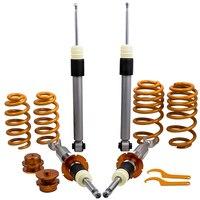 4X Coilovers Spring Struts Suspension Shock For Audi B6 B7 (8E) ALL Models 2WD / Quattro Coilover Coilover kit
