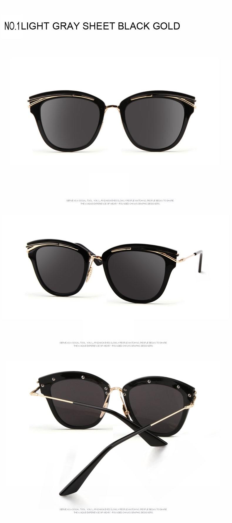 b24b367eaf0947 2017 Brand designer oversized sunglasses Men\'s explosion-proof large frame glasses  Women\'s fashion flat mirror Sunglasses womanUSD 19.00/piece