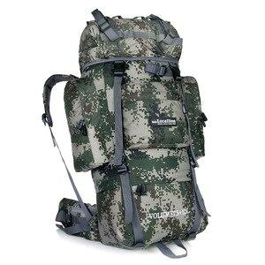 Image 3 - LOCALLION büyük 85L açık çanta tırmanma sırt çantaları yürüyüş çok fonksiyonlu sırt çantası büyük kapasiteli sırt çantası kamp spor çantaları