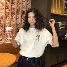 M cotton clothes female summer 2019 new short-sleeved T-shirt students fresh sweet fashion tshirt