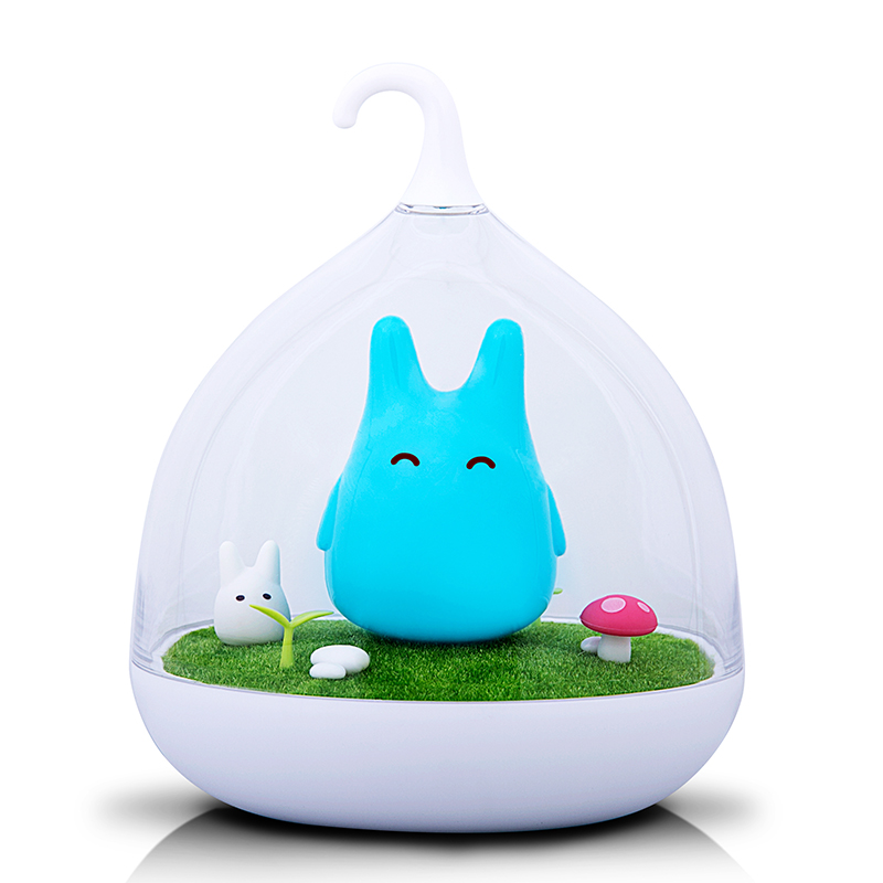 цена на Promotion Sale Totoro Lamp Portable Touch Sensor USB LED Baby Night Lamp Safe Cute Bedside Lamp For Kid Gift Atmosphere Lighting