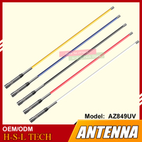 Glass Fiber Reinforced Plastic Band Antenna 144/430MHz VHF/UHF Car Mobile Ham Radio Antenna for TYT Baofeng Connector PL 259