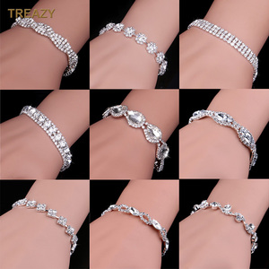 Luxury Crystal Bracelets For W