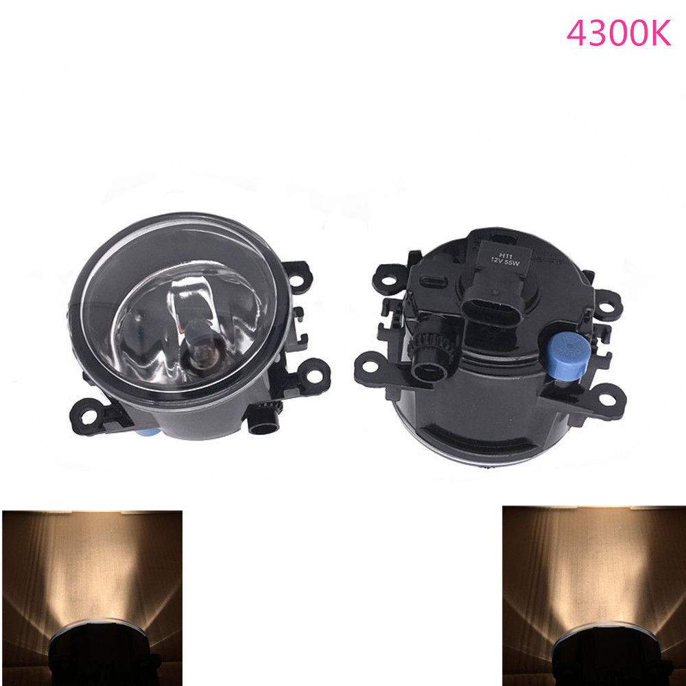 2PCS 12V 55W H11 Led Fog Light For Ford Focus <font><b>Mustang</b></font> Escape 2002 <font><b>2003</b></font> 2004 2005 2006 Halogen Fog Lights image