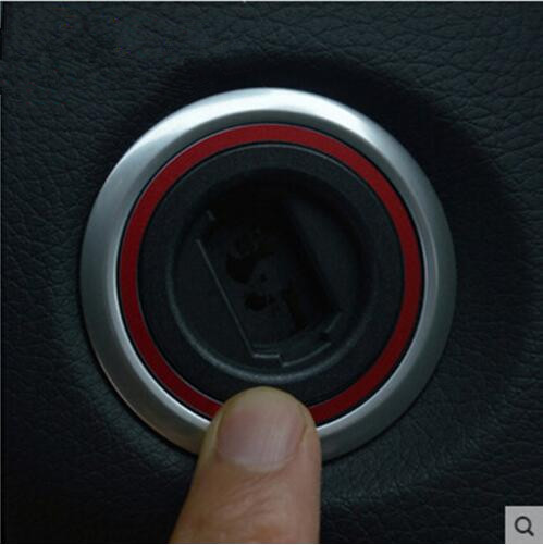 Hot Sale Engine Start Car Ignition Switch Cover Ring For Mercede S Benz AMG Glk Ml Gl Cla Gla Cls Red Blue Color 1Pc