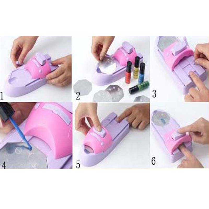 Nail Art Design Printing Machine - To Bend Light