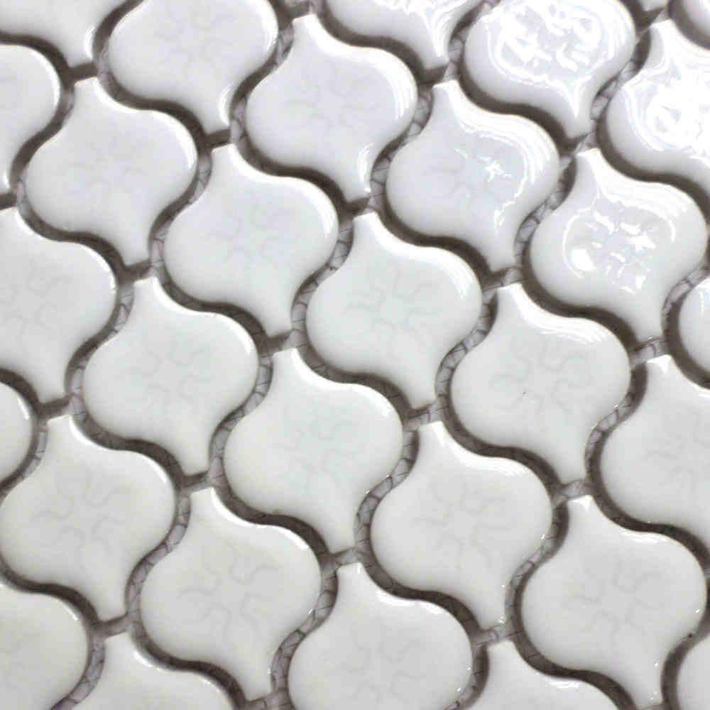 online get cheap kitchen mosaic backsplash aliexpress com gourd design white ceramic mosaic tiles kitchen backsplash wall bathroom wall and floor tiles
