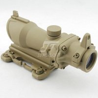 JJ Airsoft ACOG Style 4x32 Scope with QD Mount (Tan) FREE SHIPPING