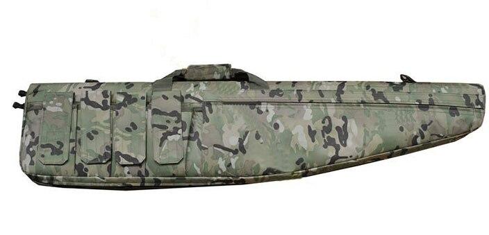 ФОТО Tactical 1.2m Heavy Duty Gun Carrying Bag / Gun Case Rifle Slip Carry Rifle Bag for 911-Back/Tan/CP/Green  HT10-0002