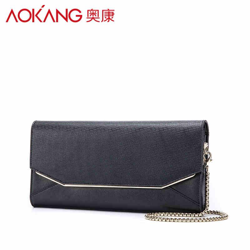 AOKANG 2017 Ladies Evening Party Small Clutch Bag eveningbag Bridal Purse Handbag evening bags wholesale offline виниловая пластинка