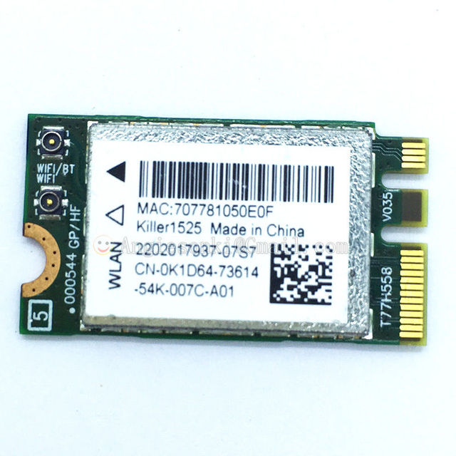 Qualcomm Killer Wireless-N 1103 Network Adapter WLAN 64Bit