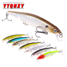 YTQHXY 1Pcs Fishing Lure Minnow 110mm 13.5g Artificial Hard Bait High Quality With 3 Triple Hooks Floating Wobbler Pesca WQ433A