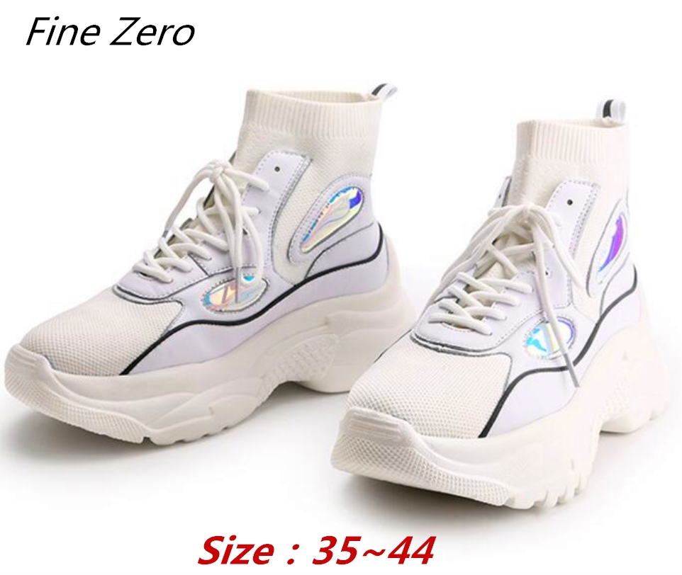 Femmes white Glitter Top Femme Zapatos Papa New Plush fur Plush black Plush fur Unisexe Bottes Chaussette High Black Zéro Fine Plate Sneakers no De Chaussures Mujjer Chunky Plush white Neige forme no qFw8wx0t