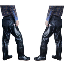 2017men mens knee high boots rubber long fishing boots male galoshes non slip rubber sole bot  rubber rain boots winter galoshes