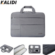 KALIDI Laptop Bag Sleeve 13.3 14 15 15.6 Inch Notebook Bag For Macbook Air Pro 11 13 15 Dell Asus HP Acer Laptop Case Waterproof(China)