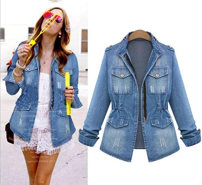 Popular Misses Denim Jackets-Buy Cheap Misses Denim Jackets lots ...