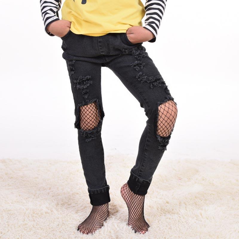 Aliexpress.com : Buy New Fashion Kids Girl Lace Fishnet