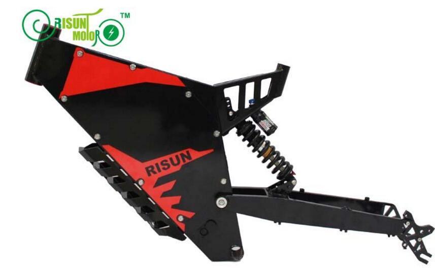 Эксклюзивный Индивидуальные рама для электрического велосипеда/белый или черный цвет Ebike рамки для В 48 В Вт 1500 Вт Mountain