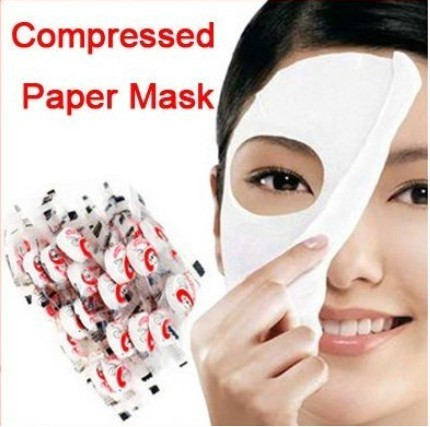 Wholesale Facial care series DIY compress facial mask pill compressed face mask non-woven moisturizing as face skin care mate