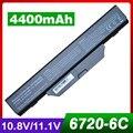 4400 mah batería del ordenador portátil para hp 451085-141 451086-121 hstnn-ib51 hstnn-ib52 hstnn-ob51 para hp compaq business notebook 6730 s 6735 s