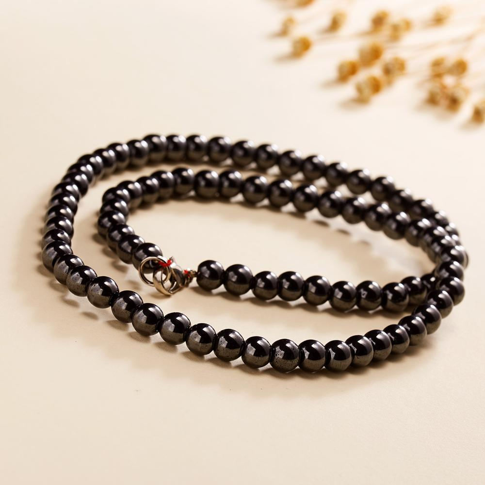 vintage beaded necklace beaded necklace Black necklace