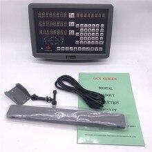 Бесплатная доставка дро цифровой дисплей с 3 линейной шкале путешествия 150-1020 мм станок фрезерный 3 оси УЦИ дисплей в комплекте блок