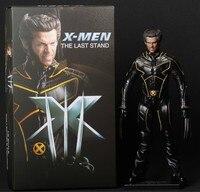 Saintgi x men the last stand wolverine super hero kapitan ameryka Marvel X-MEN PVC 29 cm Model Prezent Figurka Doll Zabawki Chłopca