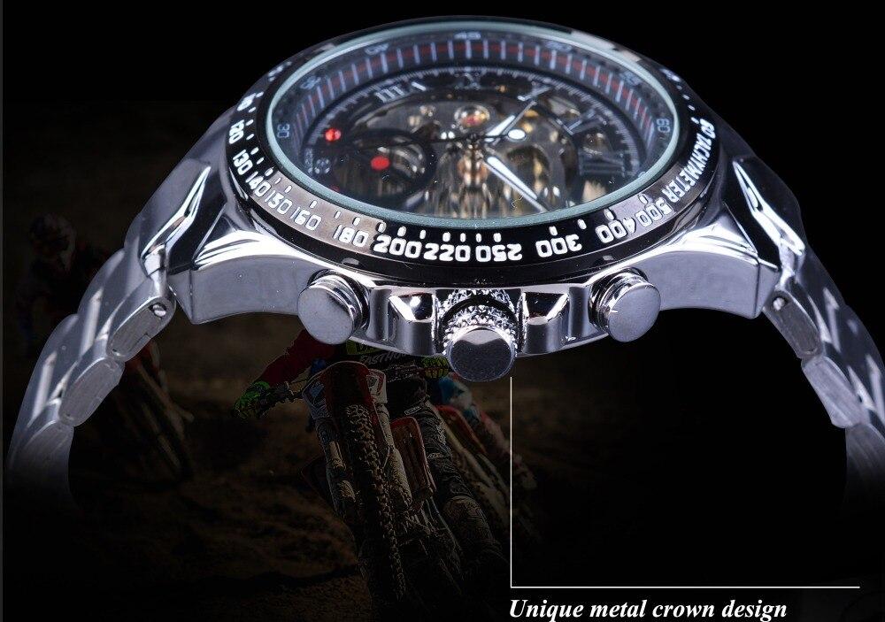 HTB1EY.UX5FTMKJjSZFAq6AkJpXav Forsining Transparent Case Open Work Silver Stainless Steel Mechanical Skeleton Sport Wrist Watch Men Top Brand Luxury Men Clock