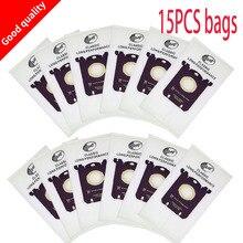 15 מחשב תיק שקית אבק לבן Electrolux פיליפ FC8208 FC8220 FC9088 HR8360 טורנדו שואב אבק מסנן s BAG