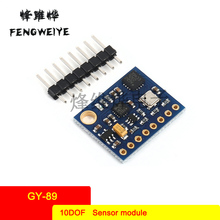 Panel GY-89 10DOF LSM303D+L3GD20 +BMP180 Sensor Module