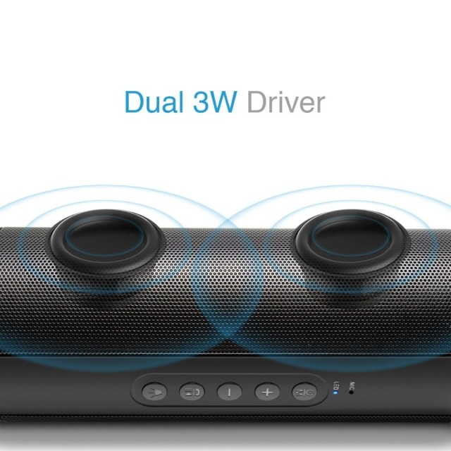 M&J Wireless Bluetooth Outdoor Mini Speaker