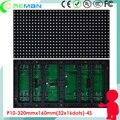 RGB светодиодный модуль p10 открытый/внешний ip65 полноцветный p10 светодиодный модуль/SMD3535 светодиодный модуль p10 для светодиодная вывеска