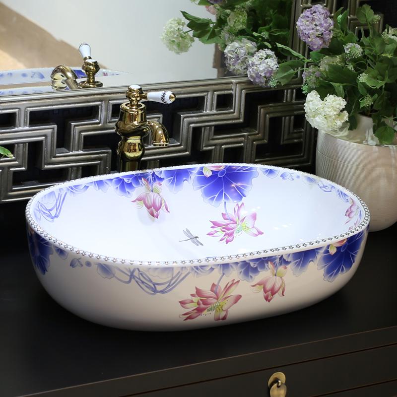 Online get cheap lavabo del baño azul  aliexpress.com ...